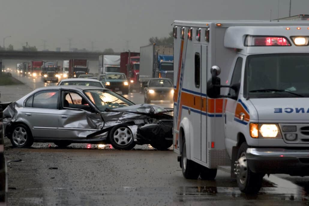 Car accident victim in Idaho